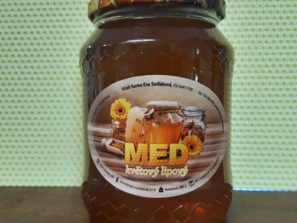 lipový med včelařství sedlákovi