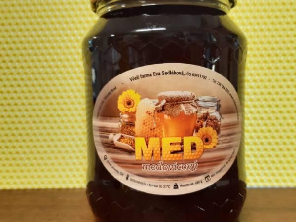 medovicový včelařství Sedlákovi